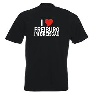 T-Shirt - i Love Freiburg im Breisgau - Herren - unisex