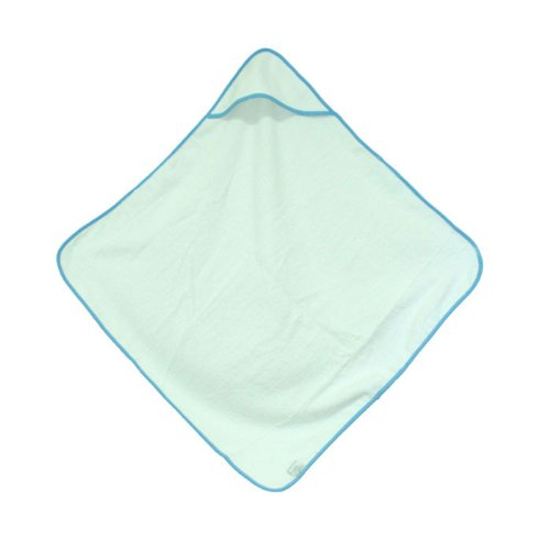 "Daylee Naturals Hooded Baby Towel Large 30"" X 30"" (Blue)"