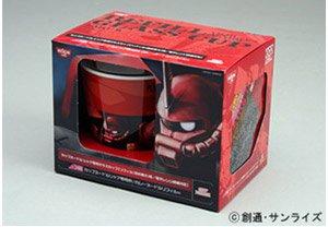シャア専用 ガラスカップ付き赤いカレーヌードルリフィル 10月下旬発送予定 【数量限定】