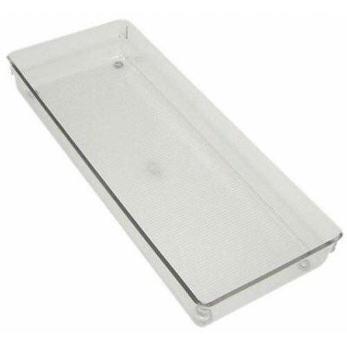 InterDesign Linus, Rangement pour tiroirs de cuisine, cellier, salle de bains - Grand, Transparent