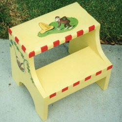Curious George Step Stool from Ababy