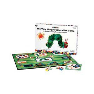 The Very Hungry Caterpillar Game- A Game of Counting, Colors, & Contrasts!