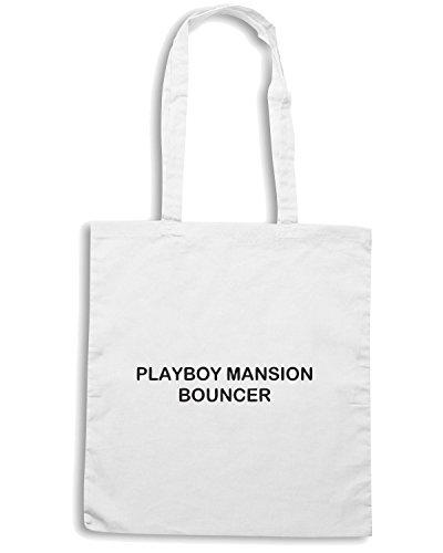 Cotton Island - Borsa Shopping TDM00219 playboy mansion bouncher, Taglia Capacita 10 litri