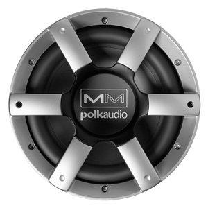 "Polk Audio 10"" Subwoofer Grill - Silver Spokes/Black Center F/Mm1040Um"