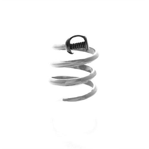 nOir Amelia Dagger Ring (7, Rhodium)