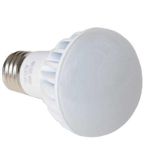 Avalon R20 7 Watt (40 Watt Replacement) 520 Lumen Led Light Bulb, Warm White 3000K, 120 Degree Light Beam Spread, Dimmable