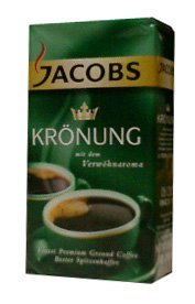Ground Coffee, Kronung, (jacobs) 250g