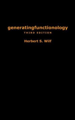 generatingfunctionology: Third Edition