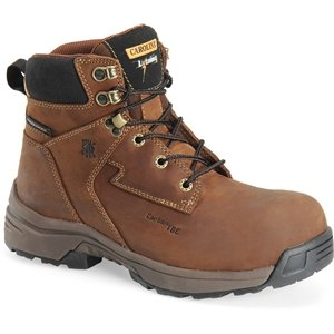 Carolina Women'S 6 Inch Composite Toe Waterproof Lightweight Work Boot Brown Boots - Lt253