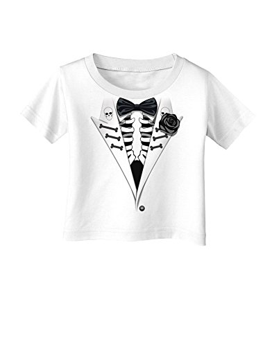 Skeleton Tuxedo Halloween Infant T-Shirt