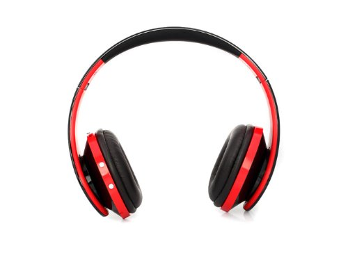 Superbpag(Tm) Ne-750 Wireless Bluetooth Headphone Headset Super Hifi Stereo Bass Surround Sound Microphone With Tf Slot (Red)