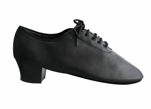 HenryG Men's 1.2-inch Cuban Heel Latin Ballroom Salsa Dance Shoes, In high quality leather, Smartly designed – 4162