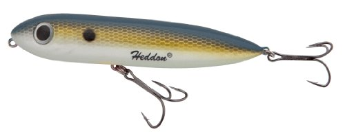 Heddon Rattle Spook Fishing Lures (G-Finish Foxy Shad, 4 1/2-Inch)