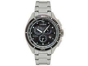 Citizen AT0956-50E Mens Eco-Drive Black Dial