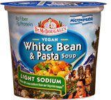 Light Sodium White Bean and Pasta Soup