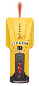Zircon StudSensor Pro SL-AC Deep-Scanning Stud Finder with How-To Guide