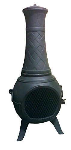 The-Blue-Rooster-Classico-Chiminea-in-Charcoal