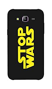 Back Cover for Samsung Galaxy E5 Stop wars