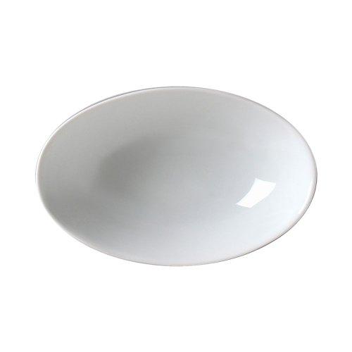 Vertex Av-B22 Ventana Collection 16 Oz. White Oval Bowl - 24 / Cs