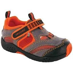 pediped Flex Delmar Sneaker (Toddler/Little Kid),Grey,31 EU (13-13.5 M US Little Kid)