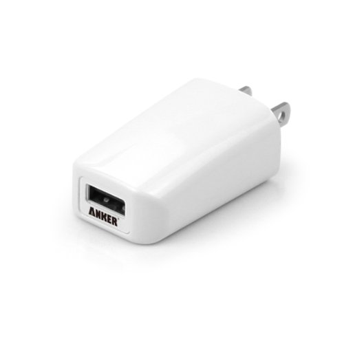 Anker® 1A Wall Charger (White)