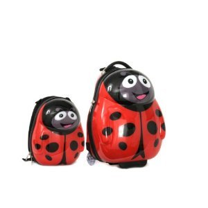 Polka the Ladybird Cutie trolley case and back pack from Picture Case