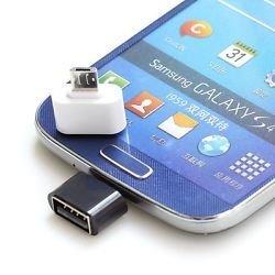 JAP (TM) Smart look OTG Adapter Micro USB OTG to USB 2.0 Adapter for Smartphones & Tablets-Black