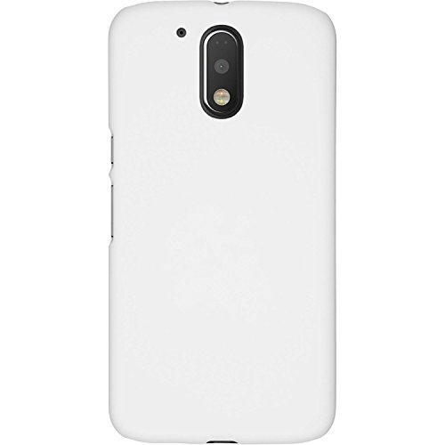 best service 43de2 141ca Moto G4 Play Back Cover, Moto G Play 4th Gen / Motorola Moto G Play 4th Gen  / Motorola Moto G4 Play Back Cover, Rubberised Matte White Back Cover For  ...