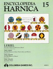 Encyclopedia Harnica 15: Leriel (Harn Fantasy RPG Setting), by Edwin King, John Frazer