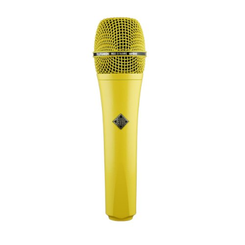 Brand New Telefunken | M80, Handheld Dynamic Cardioid Microphone, Solid Color Finish, Frequency Range : 30Hz / 18Khz, Impedance : 200 Ohms (Yellow)