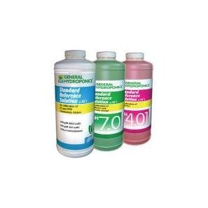 General Hydroponics Ph 4.0 Calibration Solution - 8 Ounces
