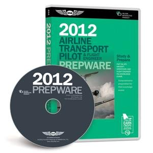 ASA 2012 ATP/Flight Engineer Prepware Software on CD