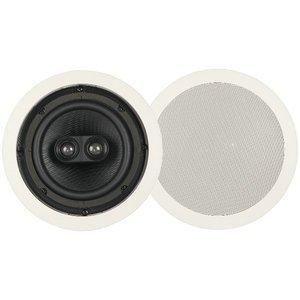 New Audiosource Phoenix Gold 6.5 Inch In Ceiling Dual Mono Speaker 1 Speaker Spray Paintable Frame