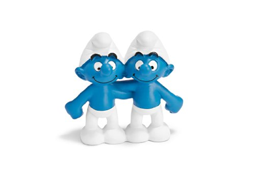 Picture of Schleich Gemini Smurf - NEW! Figure (B0030T0VLQ) (Schleich Action Figures)