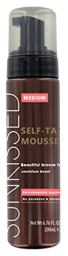 Sunkissed Instant Tan Mousse, Medium Bronze 200 ml