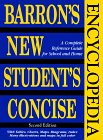 img - for Barron's New Student's Concise Encyclopedia book / textbook / text book
