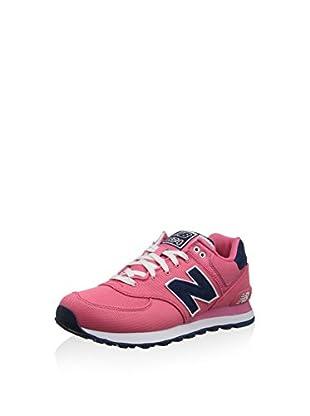 New Balance Zapatillas Wl574Bfl (Rosa / Azul)