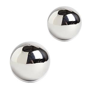 Shades of Gray Bound Benwa - Stainless Steel Ben Wa Vaginal Tightening Kegel Ball Set