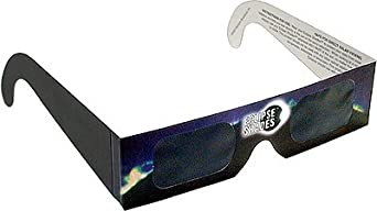 Eclipse Glasses - For Viewing Sunspots and Solar Flares Pack of 5