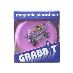Grabbit Magnetic Pincushion 50 Pins Included