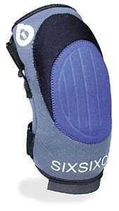 SixSixOne YOUTH Veggie Wrap Knee Guards Protective Gear
