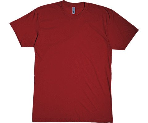 American Apparel Poly-Cotton Short Sleeve Crew Neck T-Shirt