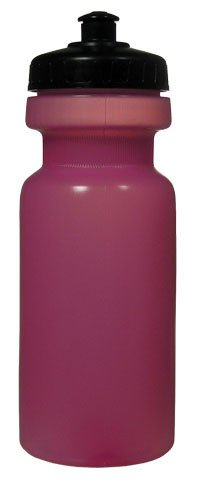22OZ.TRANSLUCENT PINK SCREW ON TOP WATER BOTTLE