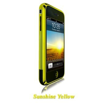 Shades iPhone (Original) (4, 8GB) Case, Cover - Sunshine Yellow