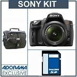 Sony Alpha A390 DSLR Camera / Lens Kit, with