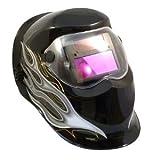 アルゴンアーク 自動フィルター溶接マスク ブラック