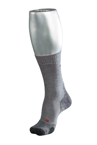 FALKE 16474 Herren Socke TK 2, asphalt melange (3180), 46-48, ( UK  11-12.5 )