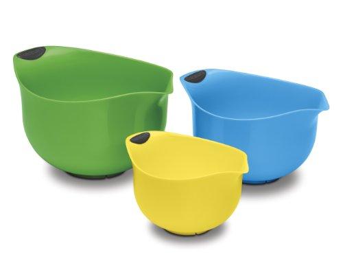 Cuisinart CTG-00-3MBM Set of 3 BPA-free Mixing Bowls, Multicolored (Cuisinart Mixing Bowl Set compare prices)