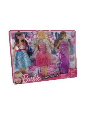 Barbie Clothes Night Looks - Masquerade Ball Fashions by Mattel TOY (English Manual)