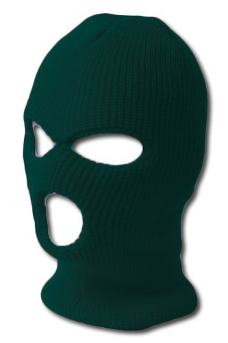 Face Ski Mask 3 Hole (More Colors)- Black (Ski Mask 3 Hole compare prices)